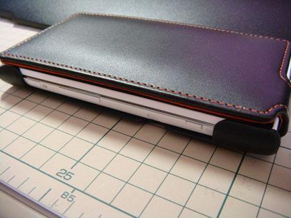 レイ・アウト Xperia acro HD用フラップタイプレザージャケット RT-SO03DLC1/B