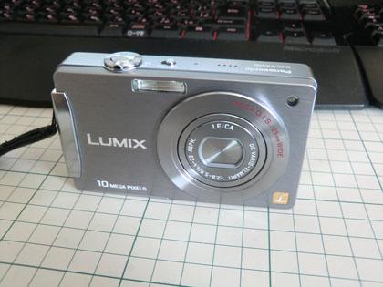 Panasonic LUMIX DMC-FX500 ストーンシルバー