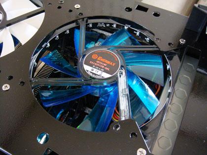 ENERMAX LEDファン UCTA14N-BL