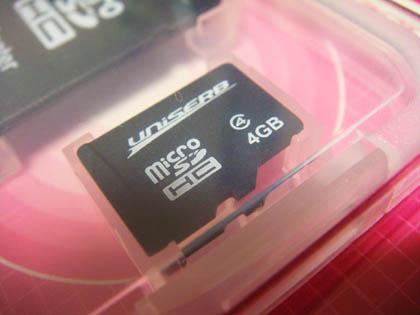 プリンストン テクノロジー microSDHCカード4GB CLASS4 AENMSD44G