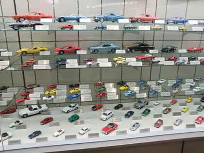 広島市交通科学館 自動車模型