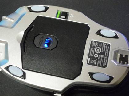 Microsoft SideWinder X8 Mouse ソール交換