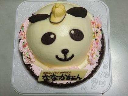 長女12歳 バースディケーキ