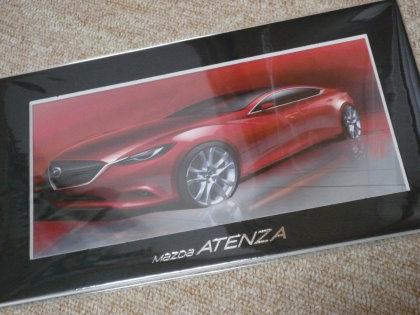 ALL NEW MAZDA ATENZA デザイナースケッチプレゼント