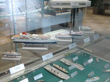 広島市交通科学館 船舶模型