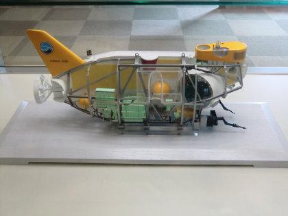 広島市交通科学館 しんかい6500模型