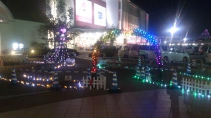 イオンモール広島祇園 イルミネーション