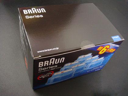 ブラウン クリーン&リニュー専用洗浄液カートリッジ(6個入)