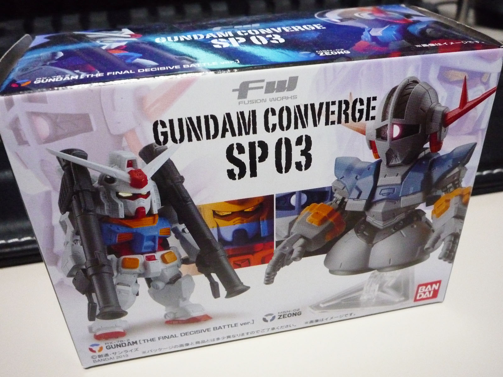 GUNDAM CONVERGE FW SP03 RX-78-2 GUNDAM[THE FINALDECISIVE BATTLE ver.]