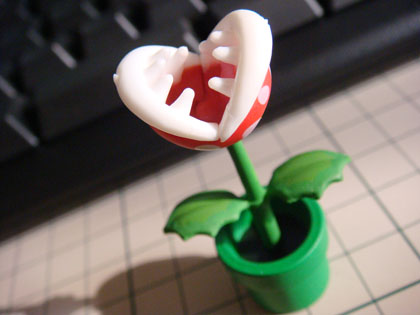 チョコエッグ ニュー・スーパーマリオブラザーズ・Wii セレクション S7 パックンフラワー