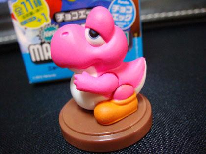 チョコエッグ New SUPER MARIO BROS.U No.6 フウセンちびヨッシー
