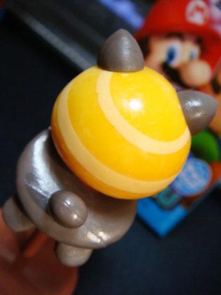 チョコエッグ New SUPER MARIO BROS.U No.3 ムササビきいろキノピオ