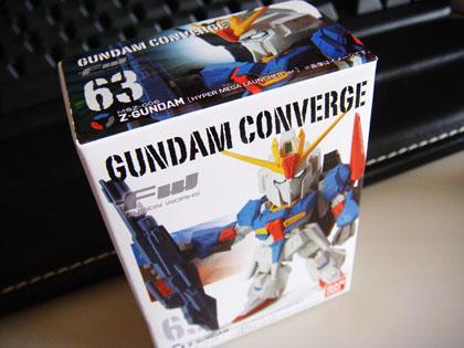 FW GUNDAM CONVERGE 63 MSZ-006 Z-GUNDAM