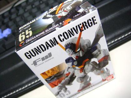 FW GUNDAM CONVERGE 65 XM-X1 CROSSBONE GUNDAM X-1