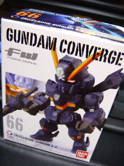 FW GUNDAM CONVERGE 66 XM-X2 CROSSBONE GUNDAM X-2