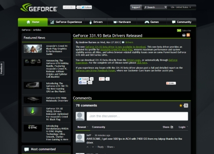 Nvidia geforce r331
