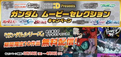 バンダイナムコID Presents ガンダム ムービーセレクションキャンペーン