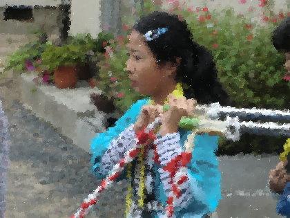 お祭り 子供神輿