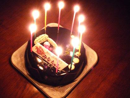みなちゃん 9歳の誕生日