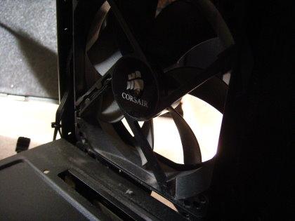 マイ自作PC HDDゲージ装着ファン