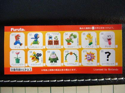 チョコエッグ SUPER MARIO BROS.Wii版 セレクション