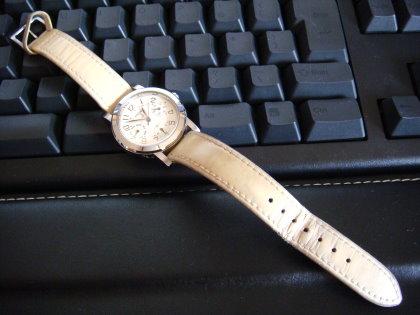 ママの時計 時計ベルト交換前
