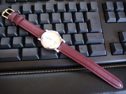 ママの時計 時計ベルト15mm 交換後