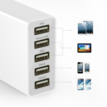 Anker 25W 5ポート USB急速充電器 ACアダプタ