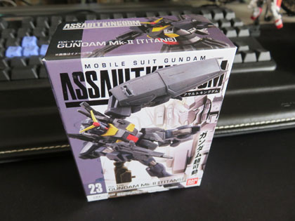 ASSAULT KINGDOM No.23 RX-178 GUNDAM mkII[TITANS]