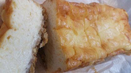 水切りヨーグルトでチーズケーキ