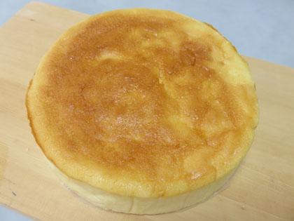 気合いの入った手作りチーズケーキ