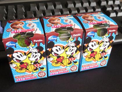 チョコエッグ ディズニーキャラクター 4 3個購入