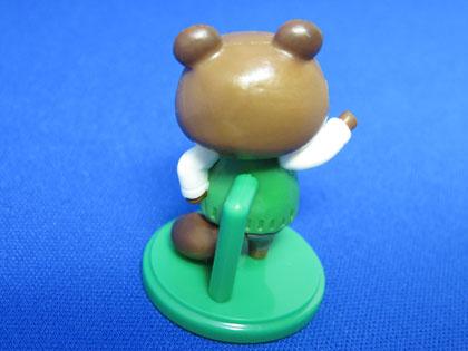 チョコエッグ とびだせ どうぶつの森 No.4 たぬきち