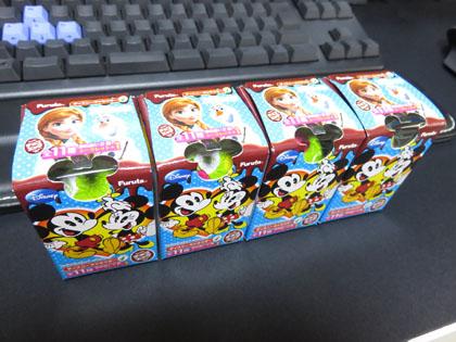 追加されたチョコエッグ ディズニーキャラクター 4
