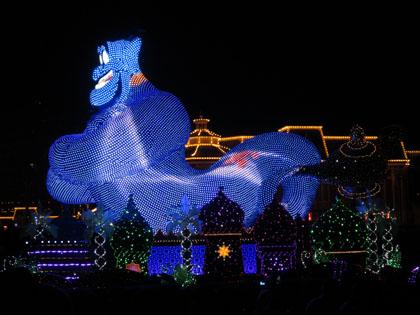 東京ディズニーランド 夜のパレード