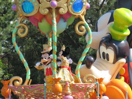 東京ディズニーランド パレード
