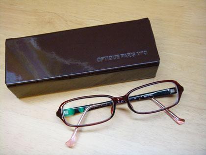 オプティック パリミキ メガネ