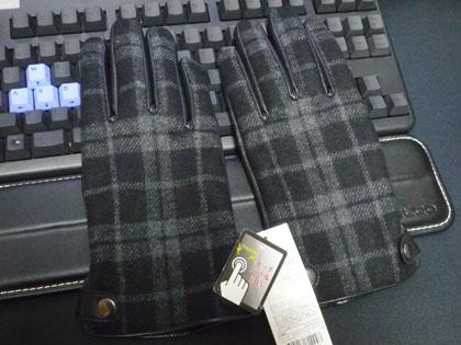 トップバリューセレクト スマートフォン対応手袋