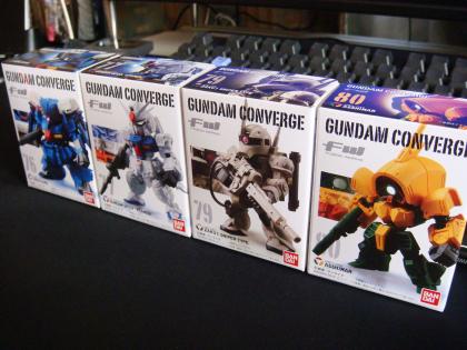 GUNDAM CONVERGEシリーズ第13弾 4体