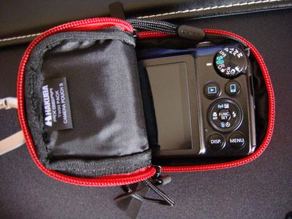 ハクバ ピクスギア ツインパック カメラポーチ S レッド