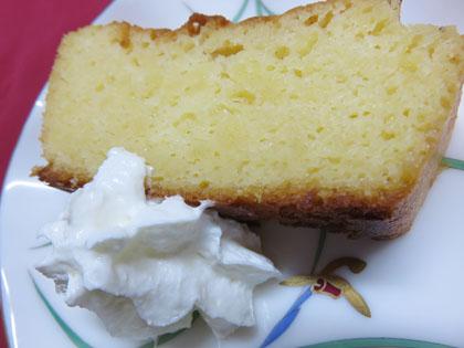 ハチミツレモンケーキ