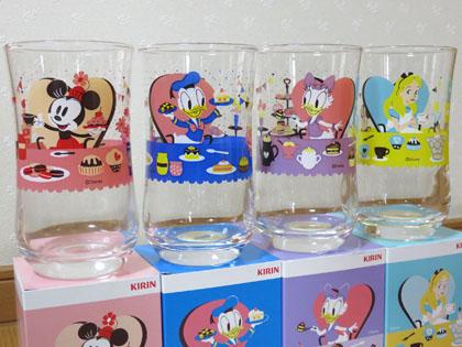 キリンビバレッジオリジナル ディズニー キャラクターグラス
