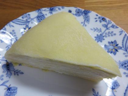 手作りミルククレープ