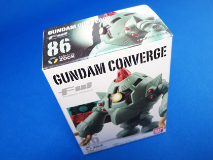 FW GUNDAM CONVERGE No.86 MSM-10 ゾック