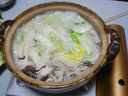 日本食研 プレミアムきのこ豆乳鍋スープ 720g 秋冬限定