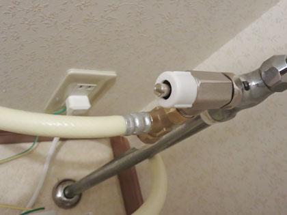 新設の分岐水栓