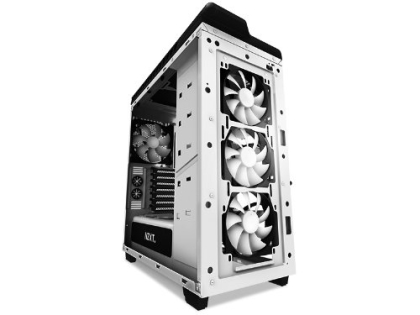 NZXT Digital Game User'sカスタム ミドルタワー ホワイト H440W-WH