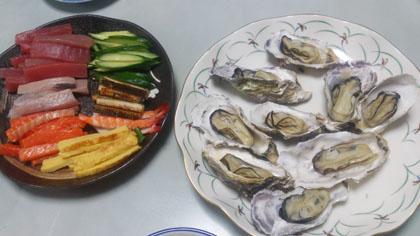 広島産殻付き牡蠣