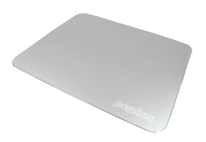 ペリックス アルミ製ゲーミングマウスパッド シルバー DX-3000LAL