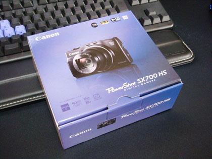 Canon PowerShot SX700 HS ブラック